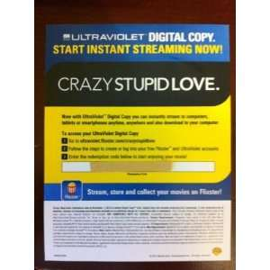 Crazy Stupid Love (2011) Ultraviolet Digital Copy Download
