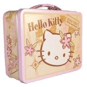 Hello Kitty Sanrio Safari Adventure Road Trip Tin Tote