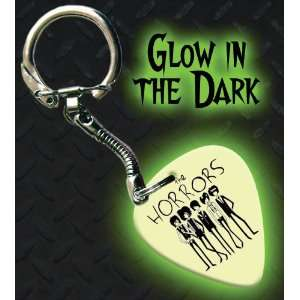 The Horrors Glow In The Dark Premium Guitar Pick Keyring