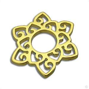 stainl. steel #1001 star in gold, Lord rings  ring system Jewelry