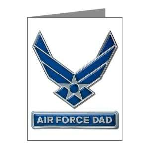 Note Cards (20 Pack) Air Force Dad