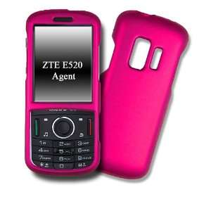 HOT PINK Rubber Feel Hard Case / Protector Cover / Snap on