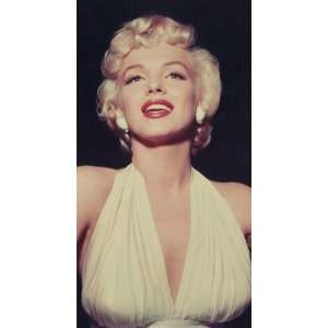 Marilyn Monroe in White Portrait   Circa 1954