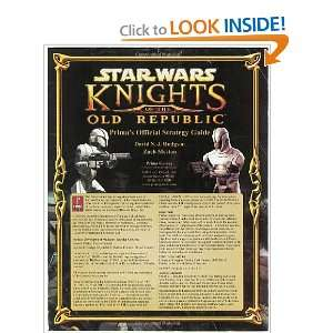 Star Wars Knights of e Old Republic (Primas Official