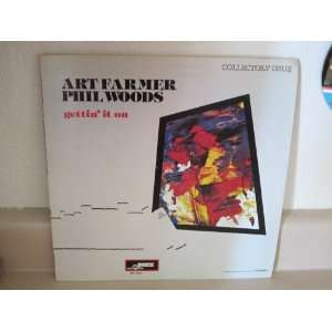 gettin it on LP ART FARMER & PHIL WOODS Music