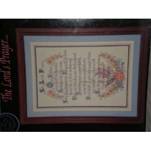 The Lords Prayer Counted Cross Stitch Pattern Arts