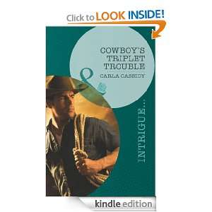 Cowboys Triplet Trouble (Mills & Boon Intrigue) (Top Secret