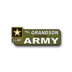 United States Army My Grandson is in the Army Bumper