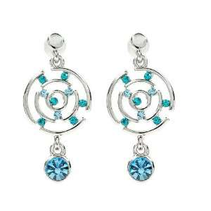 Perfect Gift   High Quality Stary Sky Earrings with Blue