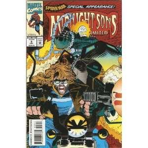 Midnight Sons Unlimited #3 October 1993: Mort Todd: Books