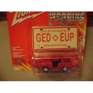 Johnny Lightning Working Class 1966 Ford Bronco: Toys