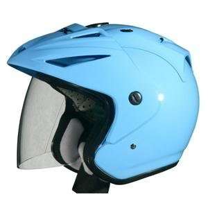 AFX FX 44 MOTORCYCLE HELMET ICE BLUE MD Automotive