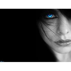 Sexy Blue Eyed Girl 8x10 Iron On T Shirt Transfer 8x10