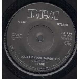 LOCK UP YOUR DAUGHTERS 7 INCH (7 VINYL 45) UK RCA 1981