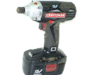 CRAFTSMAN 1/4 IMPACT DRIVER CORDLESS TOOL 315.116060