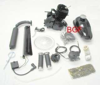 bicycle Motorized GAS ENGINE KIT 80cc centrifugal black slant head