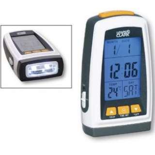 Lewis N. Clark Digital Flashlight Clock . Save 20%   80% on luggage at