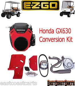 EZGO Golf Cart Honda GX630 BIG BLOCK Engine Kit 20 hp (Free Shipping