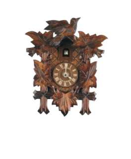 Schneider Black Forest 9 Inch Quartz Basic Cuckoo Clock