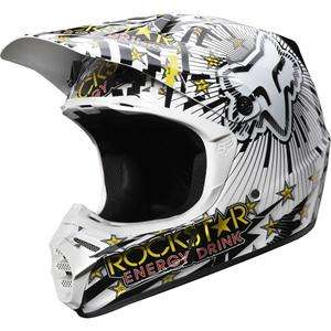 Fox Racing V3 Ryan Dungey Rockstar Helmet   Dirt Bike Motocross