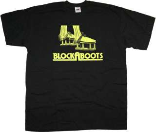 WHY DONT YOU BLOCKABOOTS T SHIRT 70S CULT TV TASTIC!