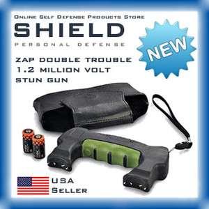 ZAP Double Trouble 1.2 Million Volt Stun Gun