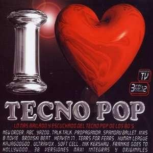 I Love Techno Pop Various Artists Music