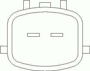 Temperature Sensor   NISSAN PRIMERA Hatchback (P11) 1.6 1 (388448