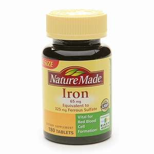 Buy Nature Made Iron, 65mg, Tablets & More  drugstore