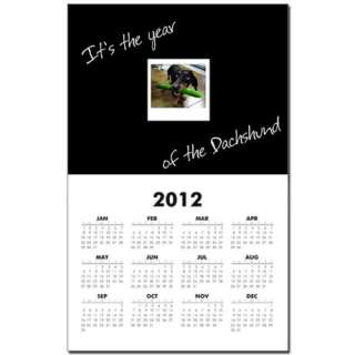 Year of the Dachshund Funny Doxie Dog Calendar by monkeypup  88028265