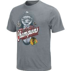 Majestic NHL 2010 Stanley Cup Championship T Shirt