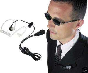 HEADSET ,COIL TUBE EAR MIC VOX FOR MIDLAND RADIO 2 JACK