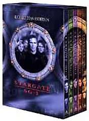 SG 1   Season 1 Gift Set DVD, 2001, 5 Disc Set 027616859174