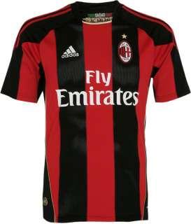 AC Milan adidas Soccer Home Replica Jersey