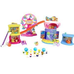 Squinkies Adventure Mall Surprize Play Set & Squinkies Hello Kitty 12