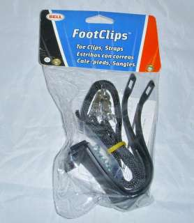 Bell Footclips Toe Clips and Straps for Bike Pedals