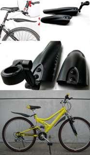 Bicycle Bike Front Rear Mud Guards Mudguard Set Fender