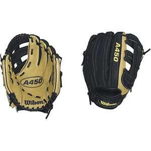 Wilson A450 11 Baseball Glove, Left Handed Throw Team