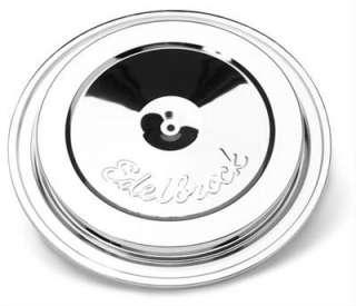 Edelbrock Pro Flo T.B.I. Chrome Air Cleaner Top 1213 085347012138