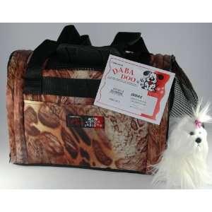 Daba Doo Pet Dog Cat Carrier Bon Voyage Bag Cobra