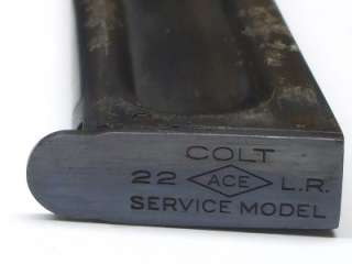 is for the Colt ACE Model 1911 Cal 22LR. The mag is for the colt 22