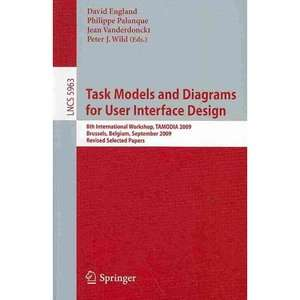 Task Models and Diagrams for User Interface Design, Lewis