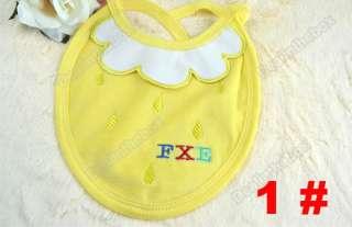 Six colors Cute Waterproof Baby Toddler Infants Girl Boy Bib New