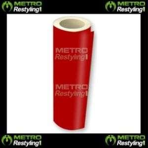 RED VINYL Roll Sheet Kit Adhesive Sticker Decal Skin