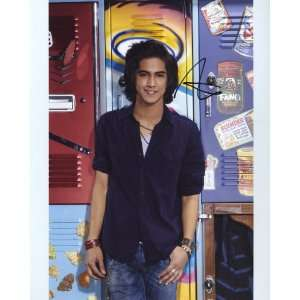 Avan Jogia of TVs Victorious on Nickelodeon Authentic Autographed