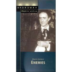 Enemies (Broadway Theatre Archive) [VHS]: George Pentecost, Will Lee