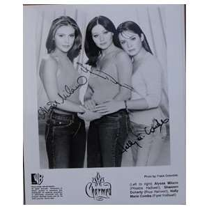 Alyssa Milano,Shannen Doherty, & Holly Marie Combs Charmed