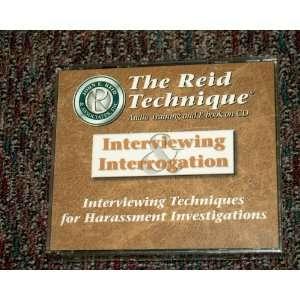 Audio Training and E Book on Cd: Inc. John E. Reid & Associates: Books