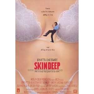 Skin Deep Poster 27x40 John Ritter Vincent Gardenia Julianne Phillips