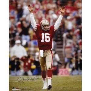Joe Montana San Francisco 49ers Autographed 30x24